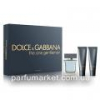 Dolce & Gabbana The One Gentleman подарочный набор EDT 50 ml +A/S 50 ml + S/G 50 ml